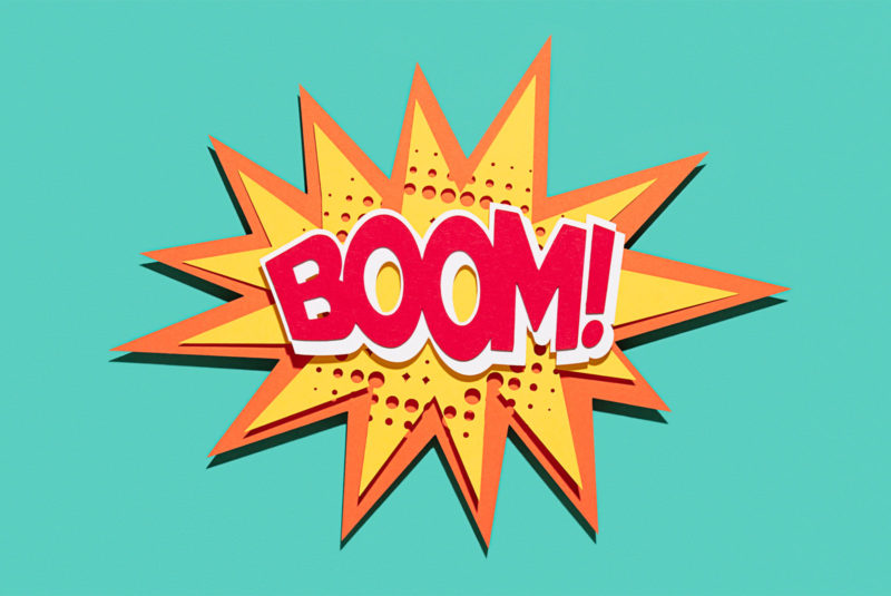 boom image of explosion! how to get the lowest mortgage rate