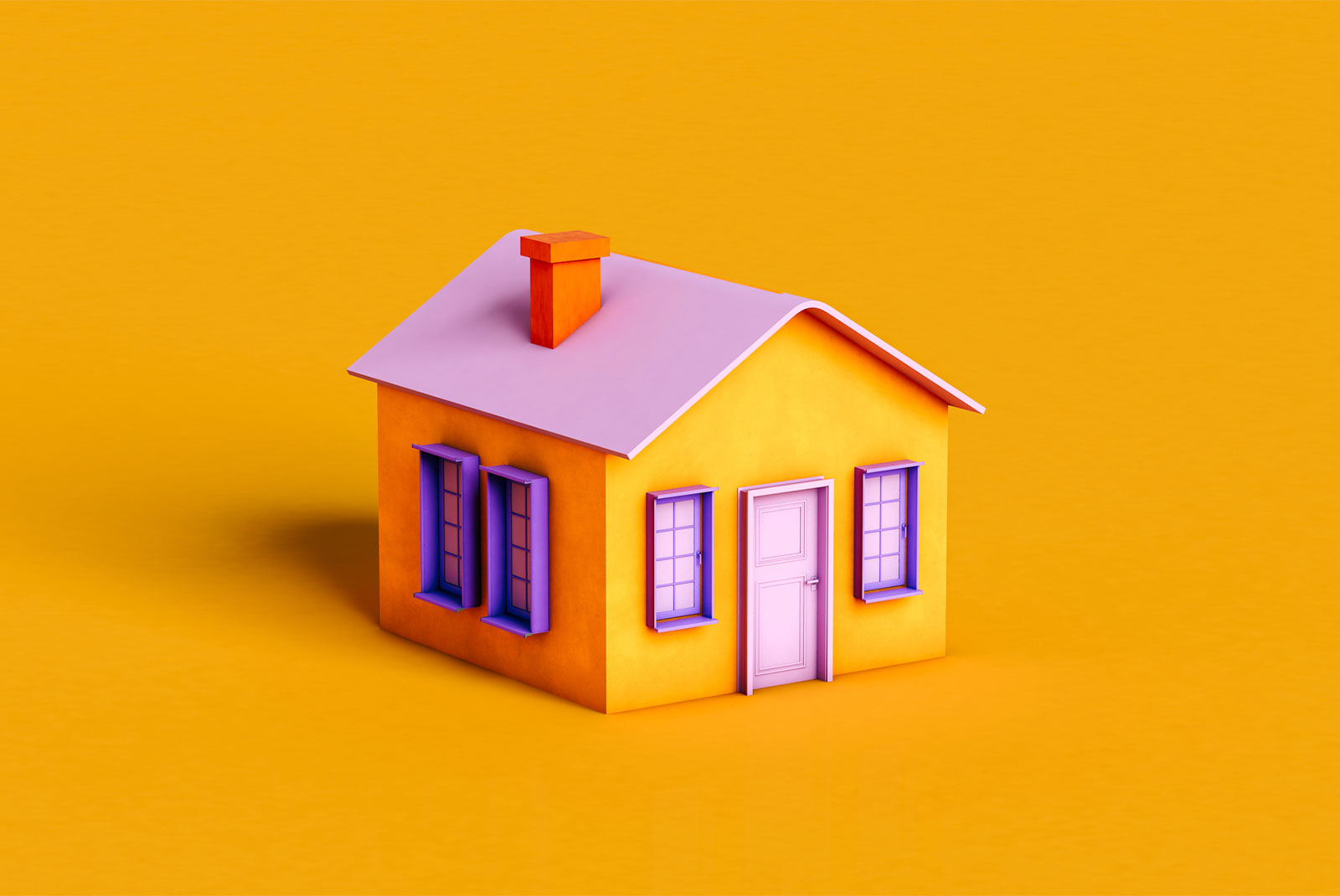 pink and orange house attached to home equity loans topic